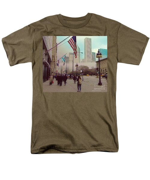 Sunday In The City Men's T-Shirt  (Regular Fit) by Kathie Chicoine