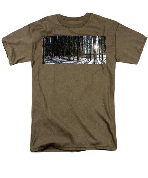Sundial Forest Men's T-Shirt  (Regular Fit) by Brad Allen Fine Art