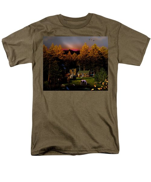 Sundown In The Rockies Men's T-Shirt  (Regular Fit) by J Griff Griffin