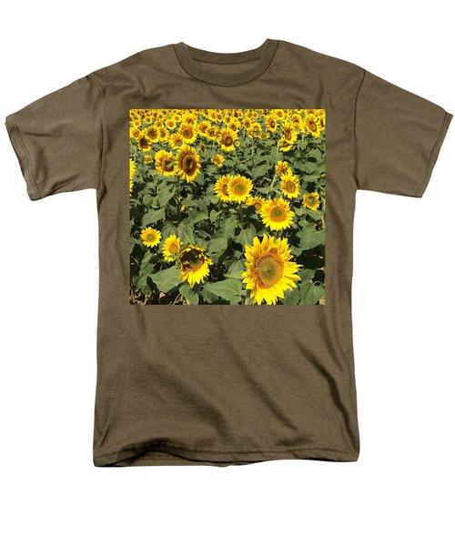 Sunflower 2016 Men's T-Shirt  (Regular Fit) by Caroline Stella