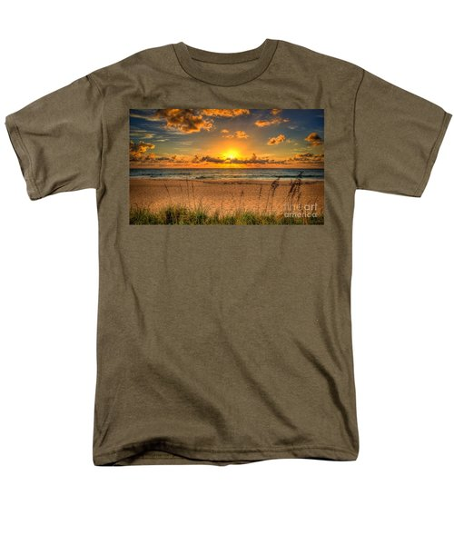 Sunny Beach To Warm Your Heart Men's T-Shirt  (Regular Fit) by Rod Jellison