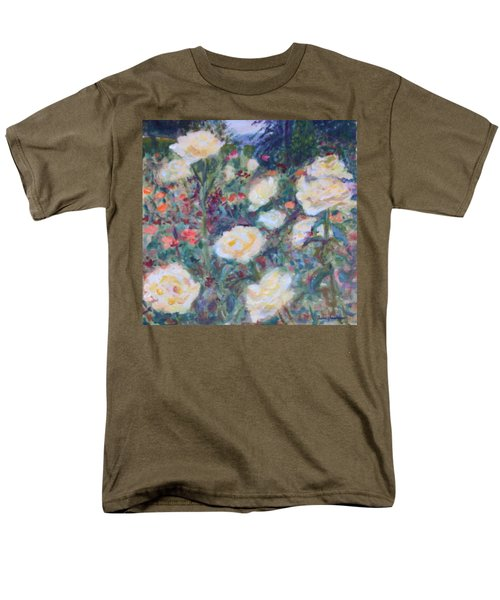 Sunny Day At The Rose Garden Men's T-Shirt  (Regular Fit) by Quin Sweetman