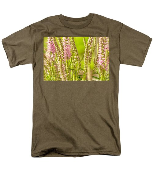 Sunny Lupine Men's T-Shirt  (Regular Fit) by Bonnie Bruno