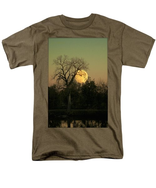 Men's T-Shirt  (Regular Fit) featuring the photograph November Supermoon  by Chris Berry