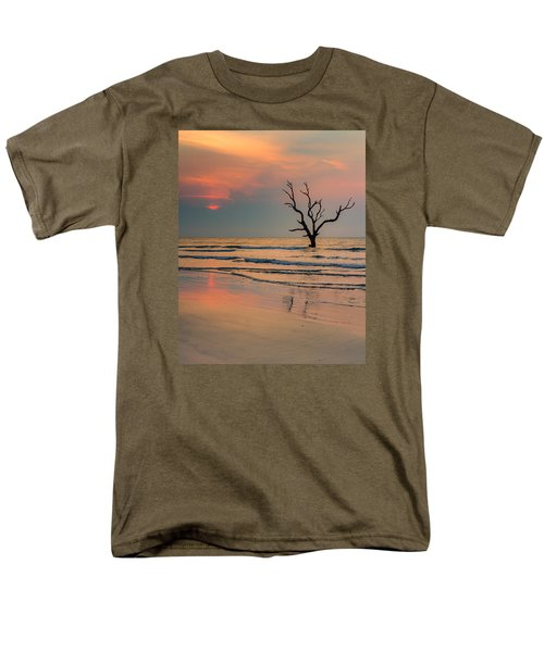 Men's T-Shirt  (Regular Fit) featuring the photograph Sunrise At The Boneyard by Patricia Schaefer