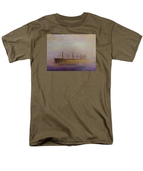 Sunrise Gold Men's T-Shirt  (Regular Fit)