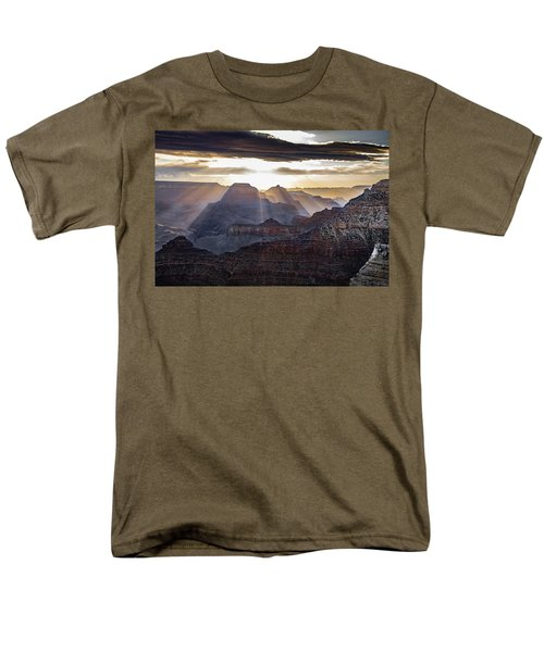 Sunrise Grand Canyon Men's T-Shirt  (Regular Fit) by Phil Abrams