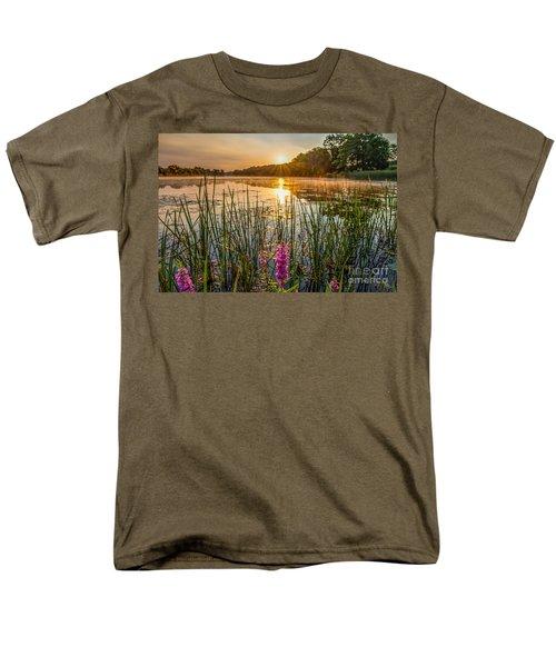 Sunrise Kent Lake Men's T-Shirt  (Regular Fit) by Patrick Shupert