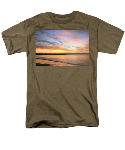 Men's T-Shirt  (Regular Fit) featuring the photograph Sunrise On Middletown Rhode Island by Roupen  Baker