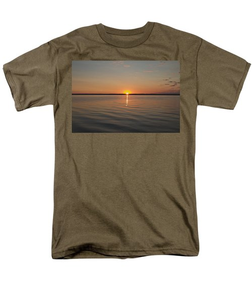 Men's T-Shirt  (Regular Fit) featuring the photograph Sunrise On Seneca Lake by William Norton