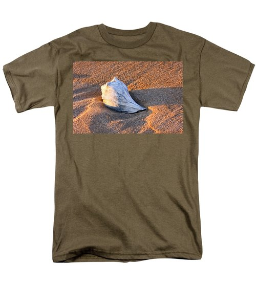Sunrise Seashell Men's T-Shirt  (Regular Fit) by Allan Levin