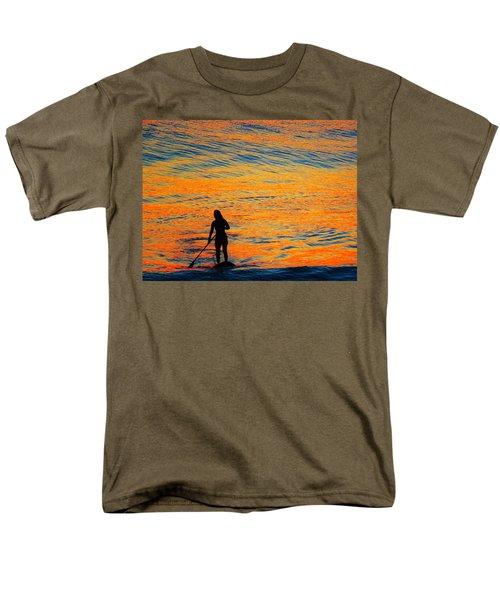Sunrise Silhouette Men's T-Shirt  (Regular Fit) by Kathy Long
