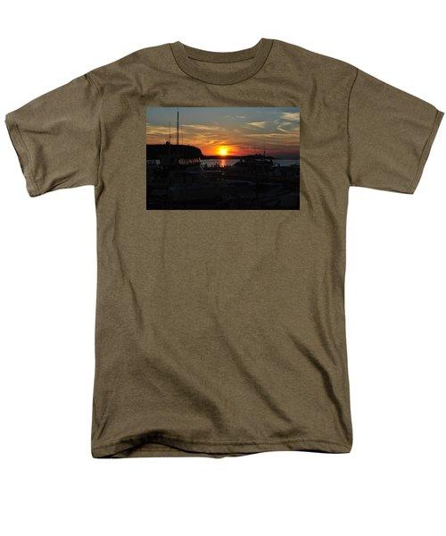 Harbor In Ephraim Men's T-Shirt  (Regular Fit) by Linda Goad