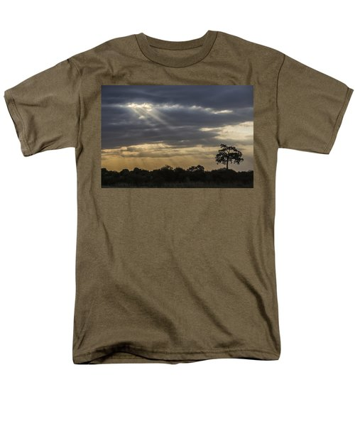 Sunset Africa 2 Men's T-Shirt  (Regular Fit) by Kathy Adams Clark