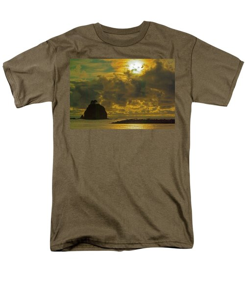 Sunset At Jones Island Men's T-Shirt  (Regular Fit) by Dale Stillman