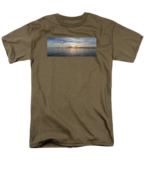 Sunset At Key Largo Men's T-Shirt  (Regular Fit) by Christopher L Thomley