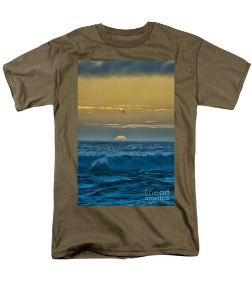 Sunset At Sea Men's T-Shirt  (Regular Fit) by Billie-Jo Miller