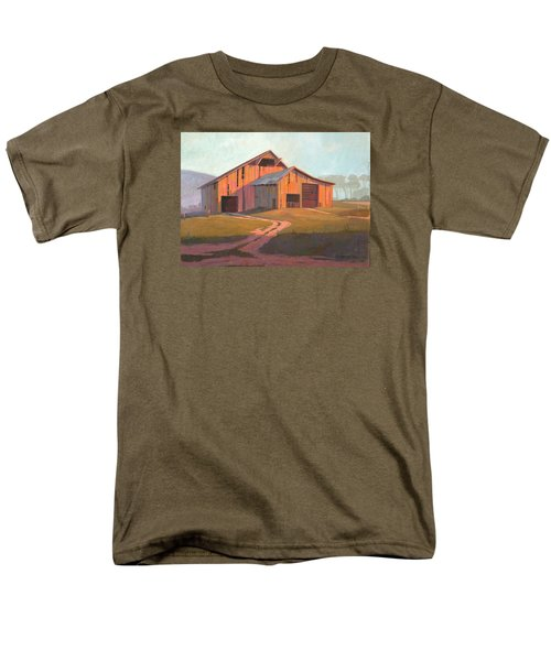 Sunset Barn Men's T-Shirt  (Regular Fit) by Michael Humphries