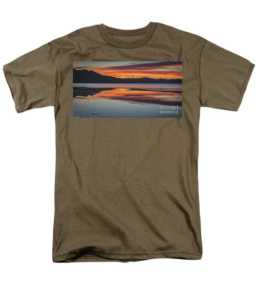 Men's T-Shirt  (Regular Fit) featuring the photograph Sunset Colors by Mitch Shindelbower