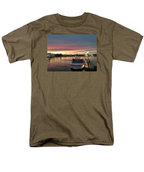 Sunset From The Boardwalk Men's T-Shirt  (Regular Fit) by John Black