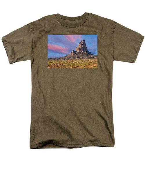 Sunset On Agathla Peak Men's T-Shirt  (Regular Fit) by Jeff Goulden