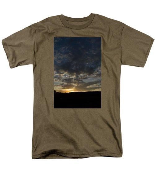 Sunset On Hunton Lane #2 Men's T-Shirt  (Regular Fit) by Carlee Ojeda