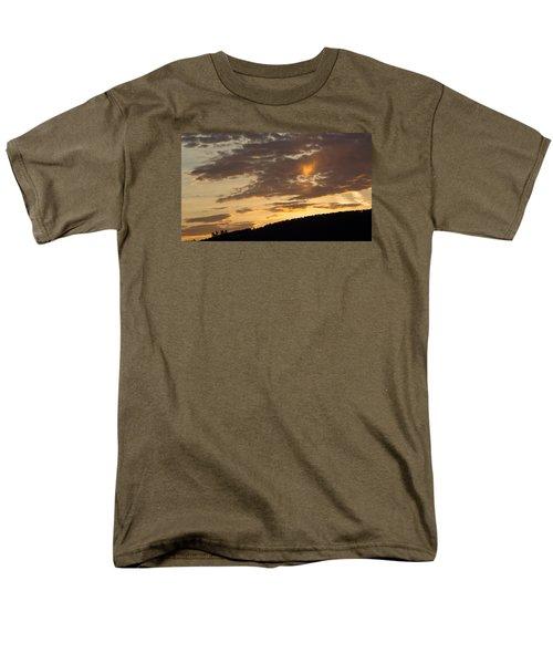 Sunset On Hunton Lane #5 The Heart Knows Men's T-Shirt  (Regular Fit) by Carlee Ojeda
