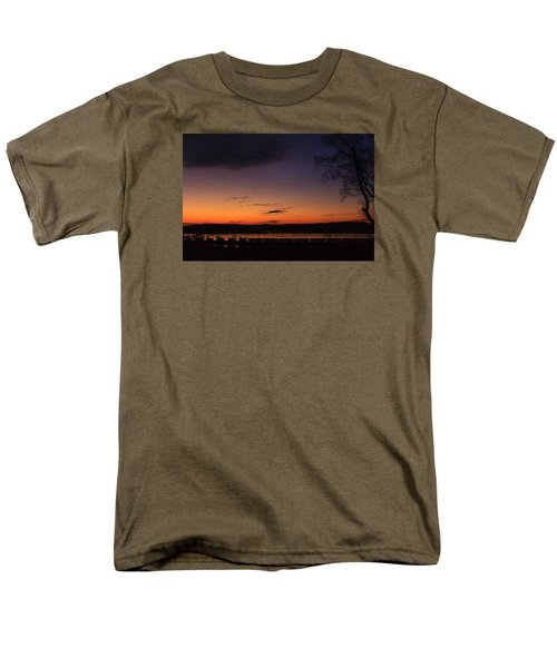 Sunset On The River Men's T-Shirt  (Regular Fit) by Joni Eskridge