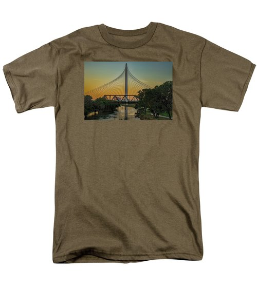 Sunset On The Trinity Men's T-Shirt  (Regular Fit) by Diana Mary Sharpton