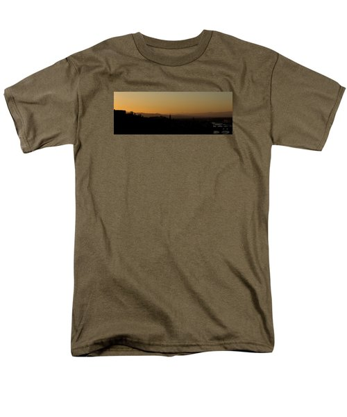 Men's T-Shirt  (Regular Fit) featuring the photograph Sunset Over Florence by Wade Brooks