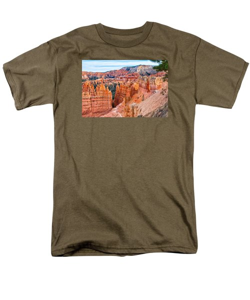 Men's T-Shirt  (Regular Fit) featuring the photograph Sunset Point Tableau by John M Bailey