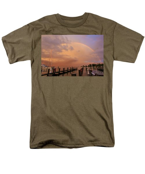 Sunset Rainbow Men's T-Shirt  (Regular Fit)