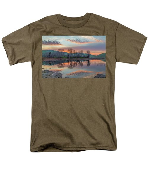 Sunset Reflection Men's T-Shirt  (Regular Fit) by Marc Crumpler