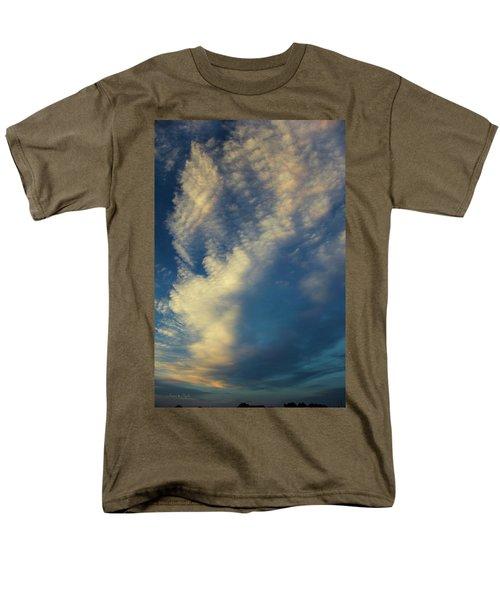 Men's T-Shirt  (Regular Fit) featuring the photograph Sunset Stack by Karen Slagle