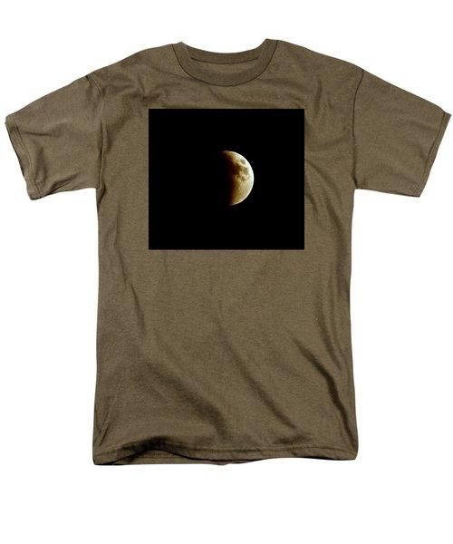 Super Moon Eclipse 2015 Men's T-Shirt  (Regular Fit) by Diana Angstadt