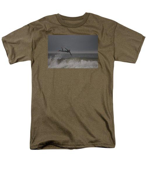 Men's T-Shirt  (Regular Fit) featuring the photograph Super Surfing by Robert Banach