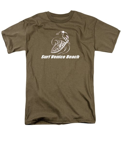 Surf Venice Beach Men's T-Shirt  (Regular Fit) by Brian Edward