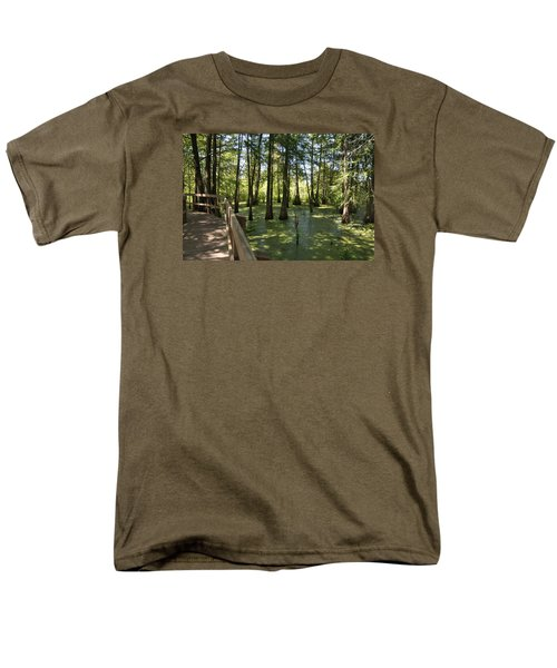 Men's T-Shirt  (Regular Fit) featuring the photograph Swamps by Helen Haw