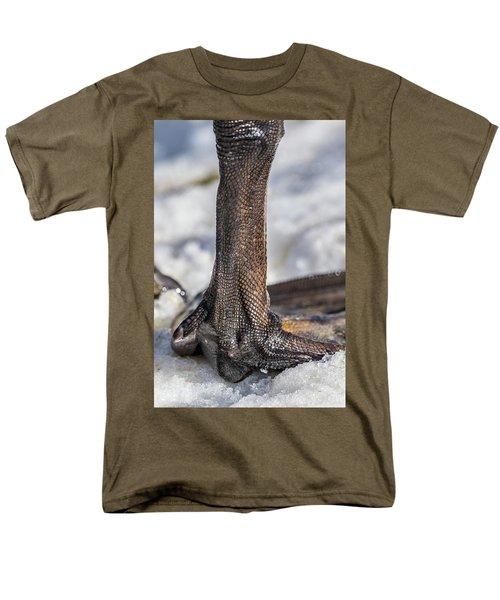 Men's T-Shirt  (Regular Fit) featuring the photograph Swan Leg by Paul Freidlund