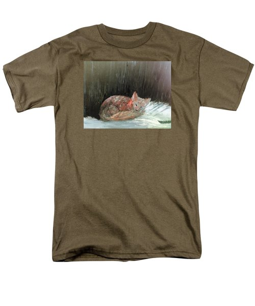 Men's T-Shirt  (Regular Fit) featuring the painting Sweet Slumber by Trilby Cole