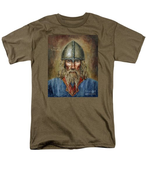 Sweyn Forkbeard Men's T-Shirt  (Regular Fit) by Arturas Slapsys