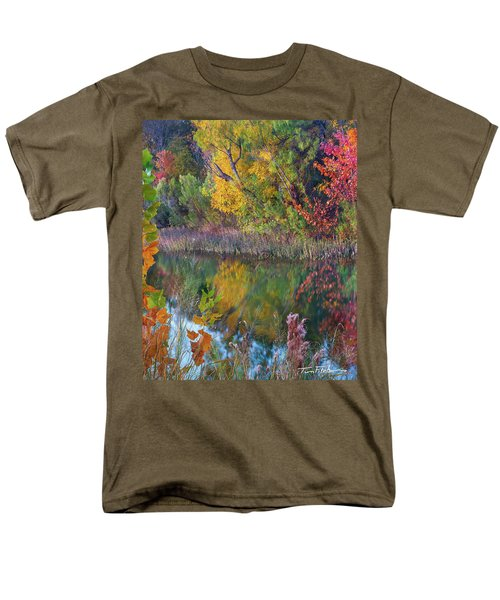 Sycamores And Willows Men's T-Shirt  (Regular Fit) by Tim Fitzharris