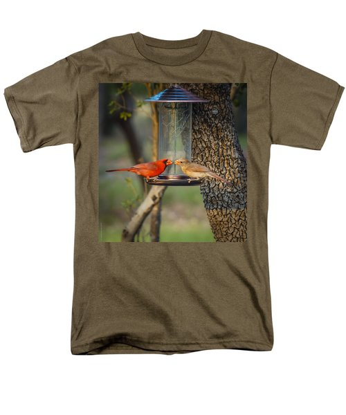 Men's T-Shirt  (Regular Fit) featuring the photograph Table For Two by Debbie Karnes
