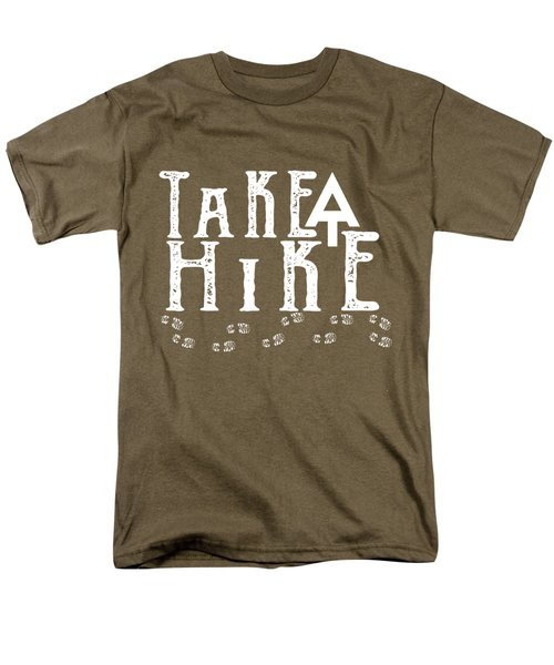 Take A Hike  Men's T-Shirt  (Regular Fit) by Heather Applegate