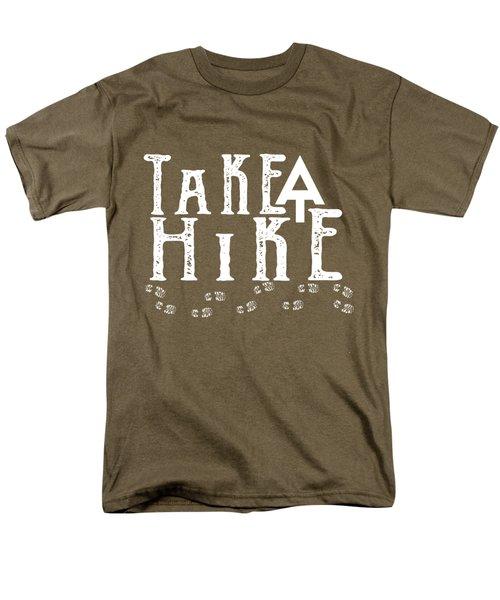 Take A Hike  Men's T-Shirt  (Regular Fit)