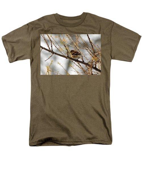 Tamarack Visitor Men's T-Shirt  (Regular Fit) by Debbie Oppermann