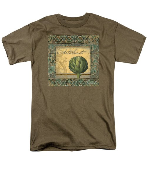 Tavolo, Italian Table, Artichoke Men's T-Shirt  (Regular Fit) by Mindy Sommers