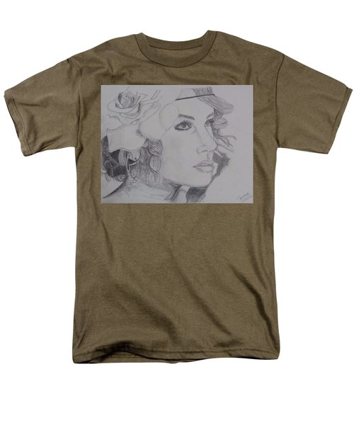 Taylor Swift Men's T-Shirt  (Regular Fit) by Tanmaya Chugh