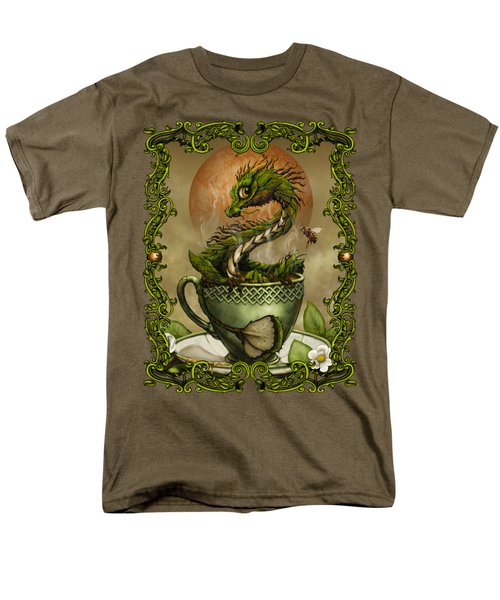 Tea Dragon T- Shirt Men's T-Shirt  (Regular Fit) by Stanley Morrison