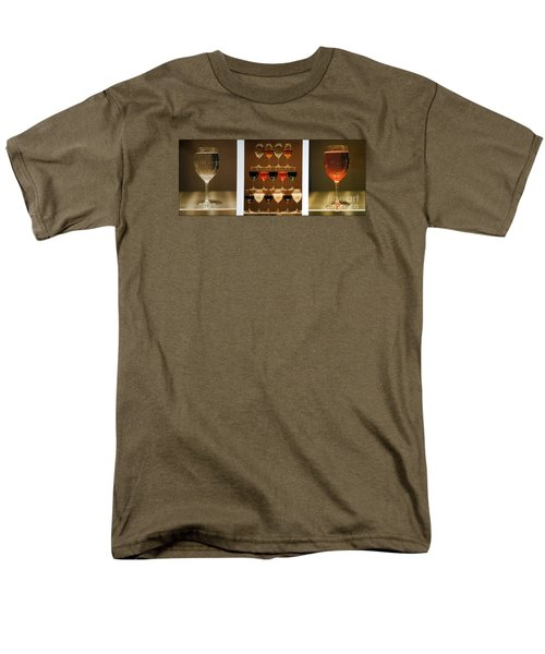 Men's T-Shirt  (Regular Fit) featuring the photograph Tears And Wine by James Lanigan Thompson MFA